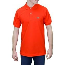 Vêtements Homme Polos manches courtes Lacoste Polo basique L1212  rouge orangé pour homme Rouge