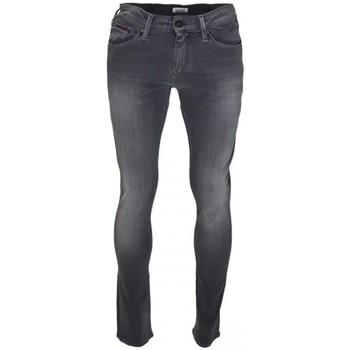 Vêtements Homme Jeans slim Tommy Hilfiger Jean Tommy Hilfiger Scanton slim gris pour homme Gris