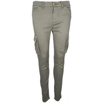 Vêtements Femme Pantalons Tommy Hilfiger Pantalon Cargo  skyler 7/8 kaki pour femme Vert