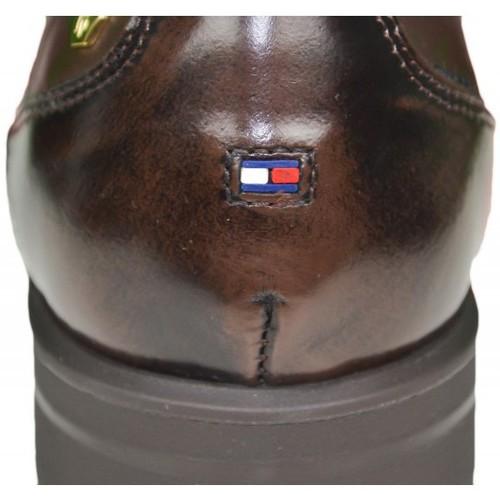 Chaussures Femme Sandales et Nu-pieds Tommy Hilfiger Richelieu  Bologna marron pour femme Marron