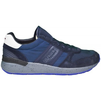 Chaussures Homme Baskets basses Tommy Hilfiger Baskets  Track bleu marine pour homme Bleu