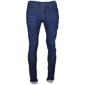 Vêtements Homme Jeans slim Tommy Hilfiger Jean  Scanton bleu brut pour homme Bleu