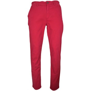 Vêtements Homme Chinos / Carrots Tommy Hilfiger Pantalon chino Tommy Hilfiger Freddy rouge bordeaux pour homme Rouge