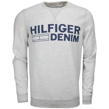Vêtements Homme Sweats Tommy Hilfiger Sweat col rond Tommy Hilfiger Logo gris pour homme Gris