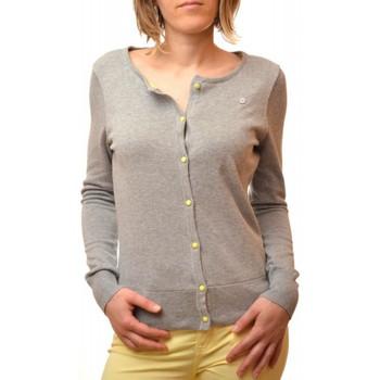 Vêtements Femme Gilets / Cardigans Gaastra Gilet  gris Mizen pour femme Gris