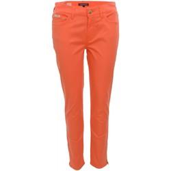 Vêtements Femme Chinos / Carrots Tommy Hilfiger Pantalon 7/8  Lenny rose corail pour femme Rose