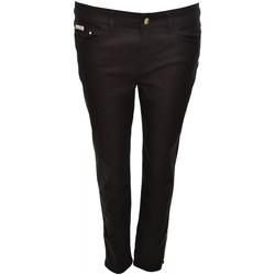 Vêtements Femme Jeans slim Tommy Hilfiger Pantalon 7/8  Lenny noir pour femme Noir