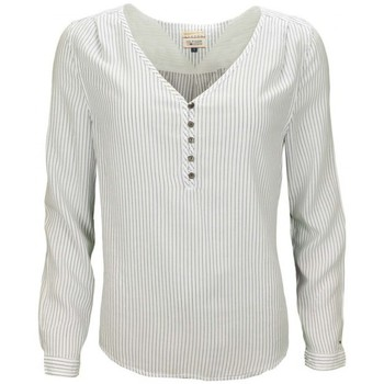 Vêtements Femme Chemises / Chemisiers Tommy Hilfiger Blouse  Blaysa rayée bleu/blanc pour femme Blanc