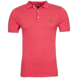 Polos manches courtes Lyle & Scott Polo Lyle and Scott rose pour homme