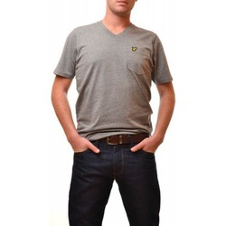 T-shirts manches courtes Lyle & Scott T-Shirt Lyle and Scott gris Vintage pour homme