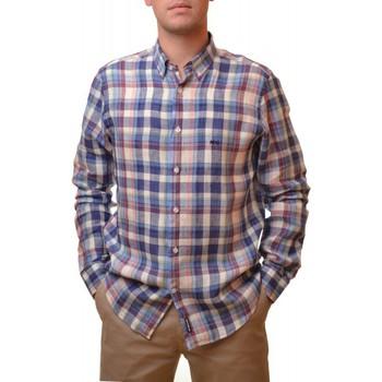 Vêtements Homme Chemises manches longues Mcgregor Chemise  carreaux multicolor Lenny Leith pour homme Multicolore