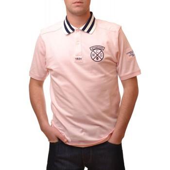 Vêtements Homme Polos manches courtes Mcgregor Polo  rose Ryan Knock pour homme Rose