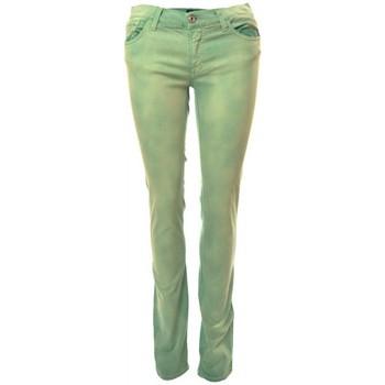 Vêtements Femme Jeans droit Gant Jean  vert kiwi Audrey pour femme Vert