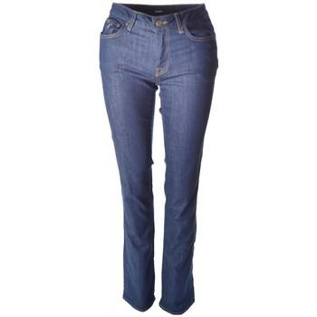 Vêtements Femme Jeans droit Gant Jean  bleu Indigo pour femme Bleu