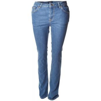 Vêtements Femme Jeans droit Gant Jean  bleu Dana Basic pour femme Bleu