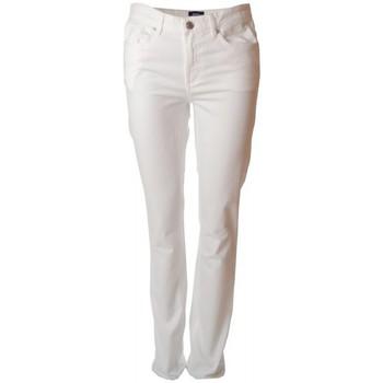 Vêtements Femme Jeans droit Gant Jean  blanc Dana pour femme Blanc
