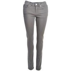 Vêtements Femme Jeans droit Gant Jean  gris Audrey pour femme Gris