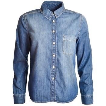 Vêtements Femme Chemises / Chemisiers Gant Chemise  bleu jean Vintage pour femme Bleu