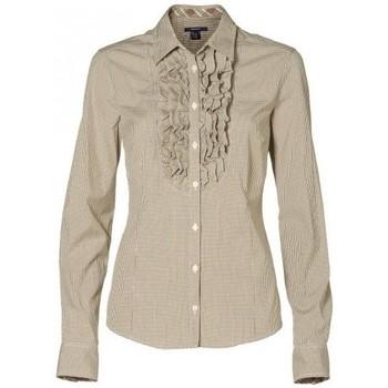 Vêtements Femme Chemises / Chemisiers Gant Chemise  Tabac pour femme Beige
