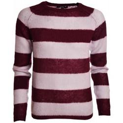 Vêtements Femme Pulls Gant Pull  gris et rouge Mohair pour femme Gris