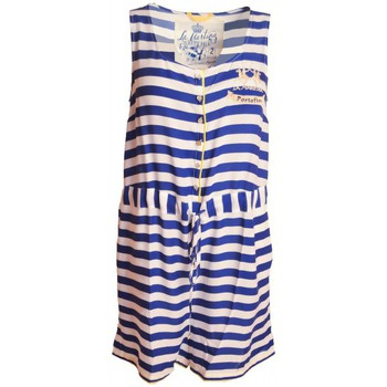 Vêtements Femme Robes La Martina Combinaison short  bleu Portofino pour femme Bleu