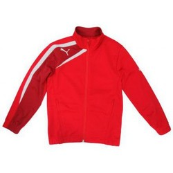 Vêtements Garçon Sweats Puma Veste Spirit Poly Jacket Junior  rouge rouge