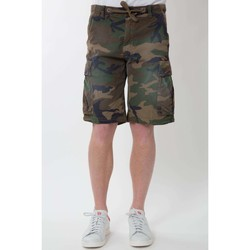 Vêtements Homme Shorts / Bermudas Franklin & Marshall Bermuda  Franklin And Marshall Kaki Kaki