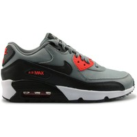 Chaussures Garçon Baskets mode Nike Air Max 90 Mesh Junior Gris Gris