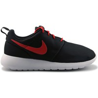 Chaussures Garçon Baskets mode Nike Roshe One Junior Noir Noir/Orange