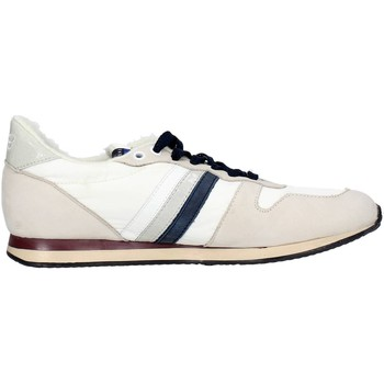 Baskets basses Serafini CAMP.19 Sneakers Homme Nubuck/nylon  Blanc
