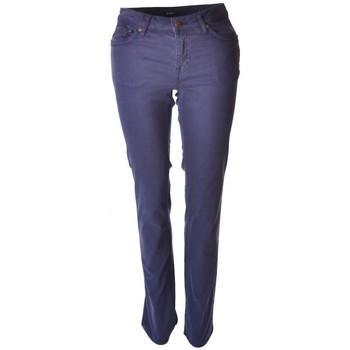 Vêtements Femme Pantalons Gant Pantalon  bleu marine Satiné pour femme Bleu marine