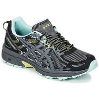 Chaussures Femme Running / trail Asics GEL-VENTURE 6 Noir / Vert