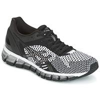 Chaussures Femme Running / trail Asics GEL-QUANTUM 360 KNIT Noir / Blanc