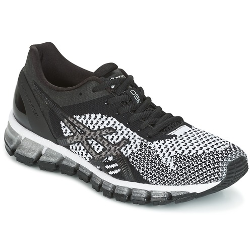asics gel quantum 360 knit noir blanc livraison gratuite avec chaussures. Black Bedroom Furniture Sets. Home Design Ideas