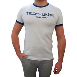 T-shirts manches courtes Teddy Smith Tee shirt Ticlass 3  blanc