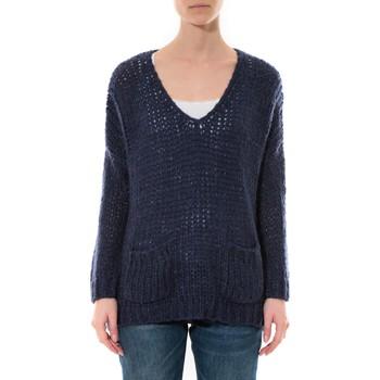 Vêtements Femme Pulls De Fil En Aiguille Pull  Senes  Bleu  Ym135 Bleu