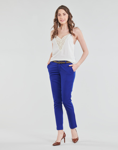 Vêtements Femme Pantalons 5 poches Betty London GRIBANO Marine