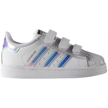 Chaussures Baskets mode adidas Originals SUPERSTAR CF I / BLANC Blanc