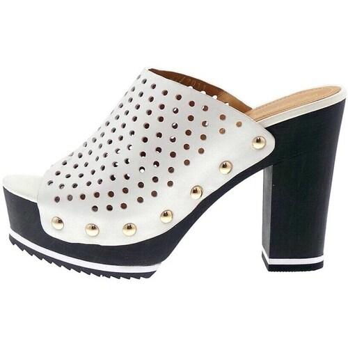 Bruno Premi F5101 Nu-Pieds Femme blanc blanc - Chaussures Sabots Femme