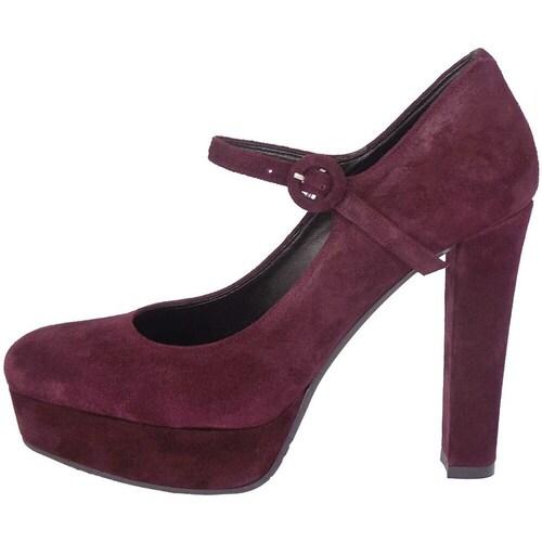 Chaussures Femme Escarpins Cruz 440 Bordeaux
