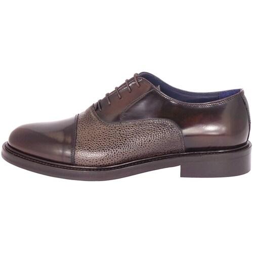 Chaussures Homme Richelieu J.b.willis 854-16 Chaussure de ville Homme Brun foncé Brun foncé