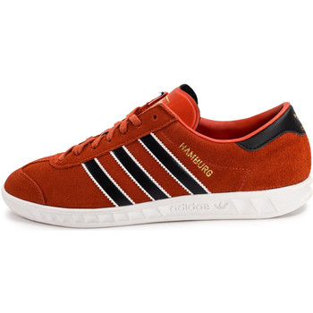 Chaussures Homme Baskets basses adidas Originals Hamburg Chili Orange