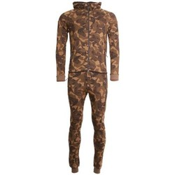 Ensembles de survêtement Cabaneli Ensemble Survêtement Jogging Tech Camo Kaki Metric