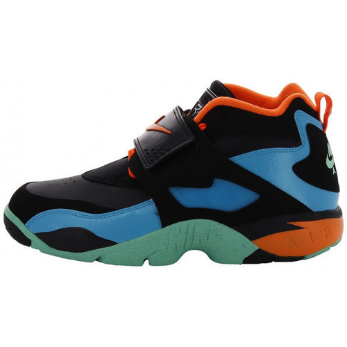 Chaussures Homme Baskets montantes Nike Air Diamond Turf - Ref. 309434-010 Noir
