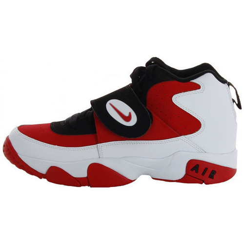 Chaussures Enfant Baskets montantes Nike Air Mission Junior - Ref. 630911-100 Rouge