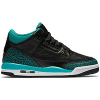 Chaussures Enfant Baskets montantes Nike Air Jordan 3 Retro Junior - Ref. 441140-018 Noir