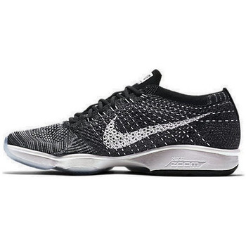 Chaussures Femme Baskets basses Nike Flyknit Zoom Agility - Ref. 698616-005 Gris