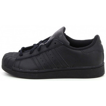 Chaussures Enfant Baskets basses adidas Originals Superstar Cadet - Ref. D70185 Noir