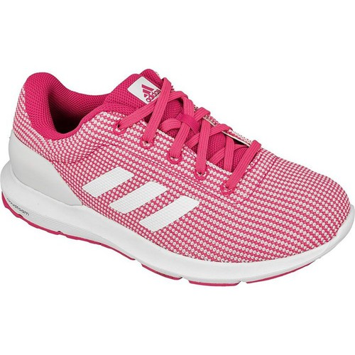 Chaussures Femme Baskets basses adidas Originals Cosmic W Rose-Blanc