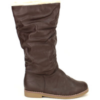 Chaussures Femme Bottes Cendriyon Bottes Marron Chaussures Femme, Marron